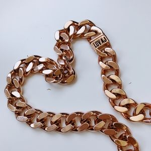Luv Aj Rose Gold Chain Necklace
